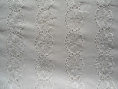 Mrignayaneei Cotton Embroidered Multi-purpose Fabric