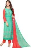 Khantil Chiffon Embroidered Salwar Suit ...