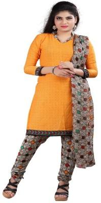 F3 Fashion Crepe Printed Salwar Suit Dupatta Material