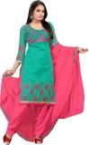 BanoRani Chanderi Embroidered Dress/Top ...