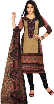 Fashion Stop Cotton Printed, Floral Print Kurti Fabric, Salwar Suit Dupatta Material, Dress/Top Material