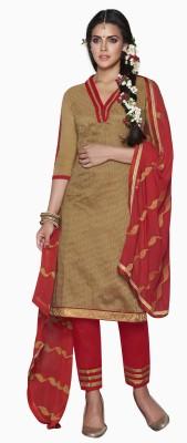 Melluha Jute Printed Salwar Suit Dupatta Material