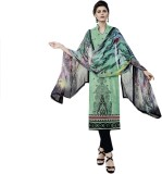 JINAAM Cotton Embroidered, Printed Salwa...