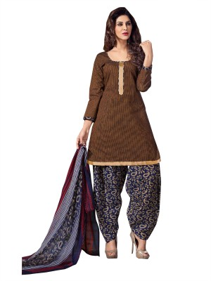 Trendz Apparels Cotton Solid Salwar Suit Dupatta Material