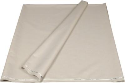 Kundan Polyester, Viscose Self Design, Solid Safari Fabric