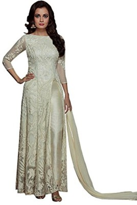 Style Amaze Georgette Embroidered Semi-stitched Salwar Suit Dupatta Material at flipkart