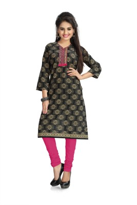 Vaamsi Cotton Printed Kurti Fabric