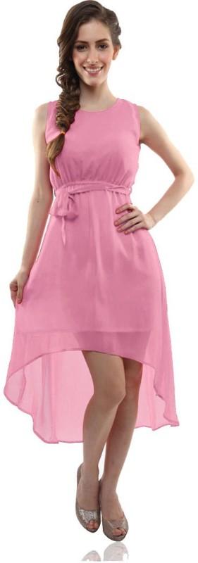 Khantil Printed Women's Kurti(Pink)