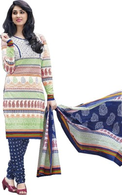 ROSH Silk Printed Salwar Suit Dupatta Material
