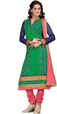 Sree Hans Creation Georgette Floral Print Salwar Suit Dupatta Material
