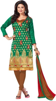 Price Bet Jacquard Printed Salwar Suit Dupatta Material