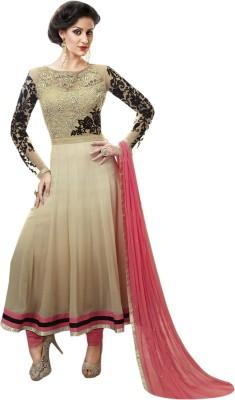 Stylelok Chiffon Self Design Semi-stitched Salwar Suit Dupatta Material (Unstitched)
