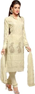 Khantil Chiffon Embroidered Salwar Suit Dupatta Material