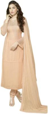 kavyashopping Chiffon Embroidered Salwar Suit Dupatta Material