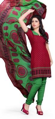 Vimush Fashion Crepe Printed Dress/Top Material