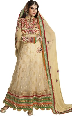 Vastrani Net Embroidered Dress/Top Material