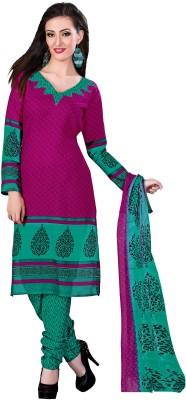 Fabgruh Cotton Printed Salwar Suit Dupatta Material