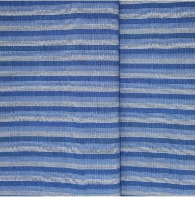 Prakasam Cotton Cotton Linen Blend Striped Shirt Fabric
