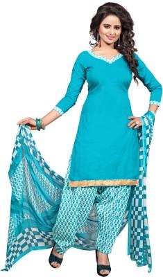 Eleven Creation Cotton Printed Salwar Suit Dupatta Material