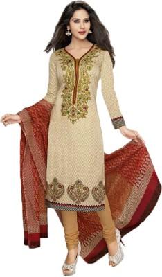 Pretty Lady Cotton Printed Salwar Suit Dupatta Material