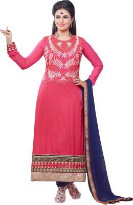 Viva N Diva Cotton Embroidered Salwar Suit Dupatta Material