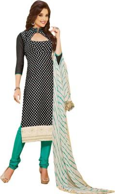 Manjaree Chanderi Printed Salwar Suit Dupatta Material