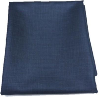 Kundan Cotton Polyester Blend Self Design Safari Fabric(Un-stitched)