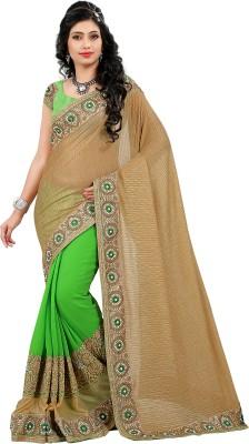 ARYADRESSMAKER Embriodered Fashion Georgette Sari