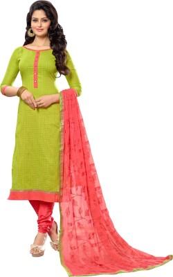 Saara Chanderi Embroidered Salwar Suit Dupatta Material