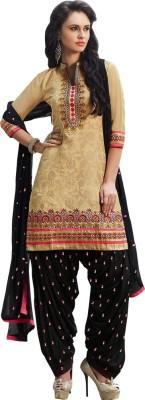 Yati Jacquard Embroidered Salwar Suit Dupatta Material