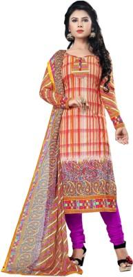 Ada Fabrics Cotton Printed Salwar Suit Dupatta Material