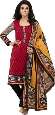 Beautara Cotton Printed Salwar Suit Dupatta Material