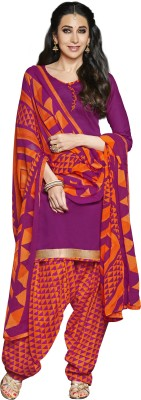 JK apparels Cotton Self Design Semi-stitched Salwar Suit Dupatta Material