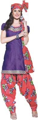 BobbyApparels Cotton Floral Print Salwar Suit Dupatta Material