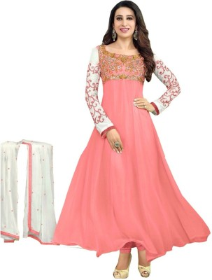 Samay Georgette Embroidered Salwar Suit Dupatta Material
