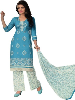 Baa Creation Cotton Printed Salwar Suit Dupatta Material