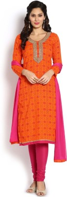 Soch Cotton Printed Salwar Suit Dupatta Material