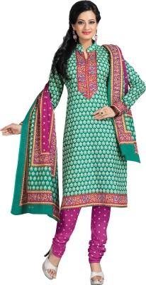 Aryahi Cotton Floral Print Salwar Suit Dupatta Material(Un-stitched)