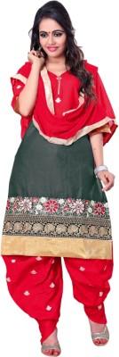 Kalaahari Cotton Embroidered Salwar Suit Dupatta Material