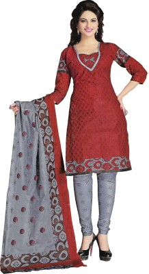 Fashion Curves Cotton Printed Salwar Suit Material, Salwar Suit Dupatta Material, Dress/Top Material