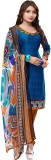 Ganga Fashion Crepe Printed Semi-stitche...