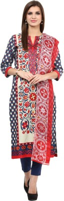 Khaadi Cotton Embroidered Salwar Suit Dupatta Material