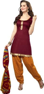 Vastrani Cotton Printed Salwar Suit Dupatta Material