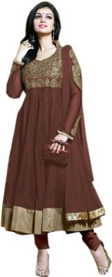 rajarani Synthetic Georgette Embroidered Salwar Suit Dupatta Material