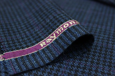 Raymond Wool Checkered Jacket Fabric(Un-stitched)