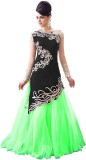 Shree Creation Velvet Embroidered Dress/...