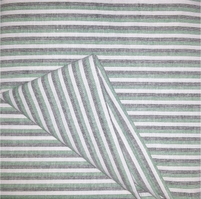 Prakasam Cotton Cotton Linen Blend Striped Multi-purpose Fabric
