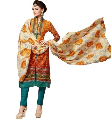 Reine Femmes Pashmina Printed Salwar Suit Dupatta Material
