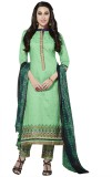 Silkbazar Cotton Embroidered Salwar Suit...