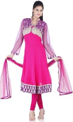 Chhabra 555 Georgette Printed Salwar Suit Material